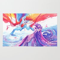 mlp Area & Throw Rugs featuring MLP by Cari Corene