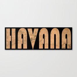 Havana 1762 Canvas Print
