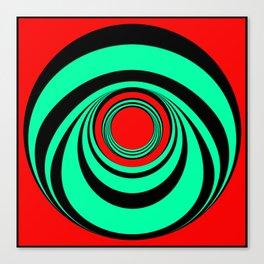 Fat Boitox Ring. Canvas Print