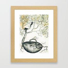 The Seed Framed Art Print