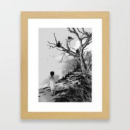 Welcome, Stranger! Framed Art Print