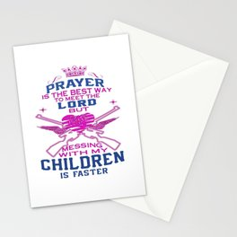 Messing with my Children Stationery Cards