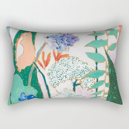 Speckled Garden Rectangular Pillow