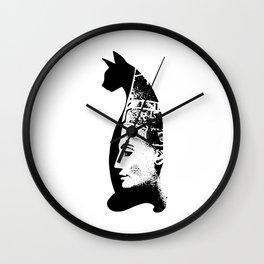 Cat Pharaon Wall Clock