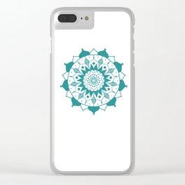 Mandala 3 Clear iPhone Case