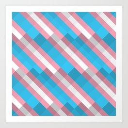 PRIDE - Trans Art Print