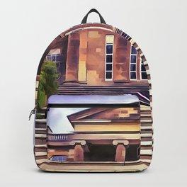 Hillsborough Castle, Northern Ireland. (Painting) Backpack
