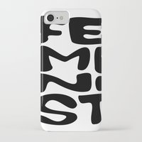 feminist iPhone & iPod Cases featuring Feminist by Bálint Magyar