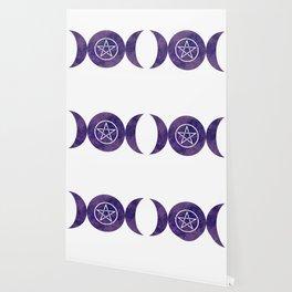 Purple Moon Rune Wallpaper