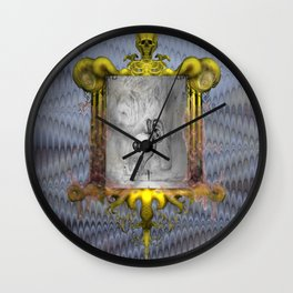Misperception Wall Clock