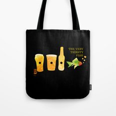the very thirsty fish Tote Bag