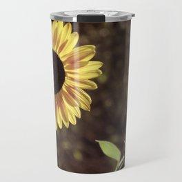 Sunflower Gaze Travel Mug