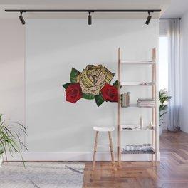 Ouija Board Rose Wall Mural