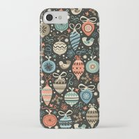 folk iPhone & iPod Cases featuring Festive Folk Charms by Poppy & Red