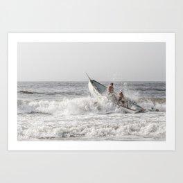 Lifeboat Margate Art Print