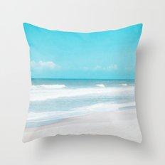 Soft Ocean Throw Pillow