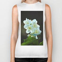 Jasmine flower Biker Tank