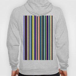 Multi color stripes 02 Hoody