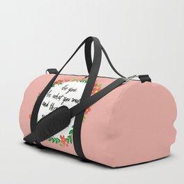 Unbreakable Duffle Bag
