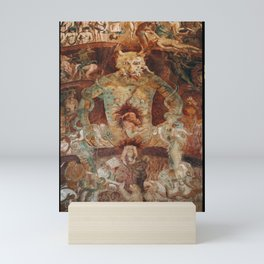The last judgment hell by francesco Traini campo santos Pisa Italy Mini Art Print