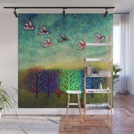 Fly away Wall Mural