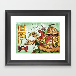 Adriansito Framed Art Print