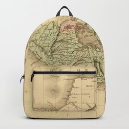 Vintage Map of Guatemala (1825) Backpack