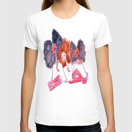 Unbothered Breast Cancer Awareness T-shirt