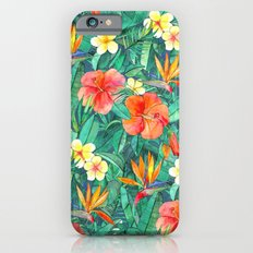 Classic Tropical Garden Slim Case iPhone 6s