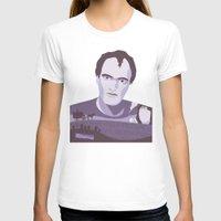 tarantino T-shirts featuring Quentin Tarantino by Fanny Öqvist Westerberg
