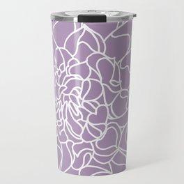 Chrysanthemum Lavender Collection Travel Mug