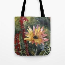 Vibrant Blossom Tote Bag