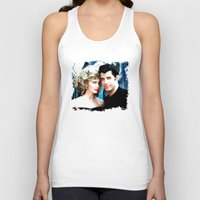 grease Tank Tops featuring Sandy and Danny from Grease - Painting Style by ElvisTR
