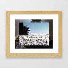 Tomorrow Land Framed Art Print