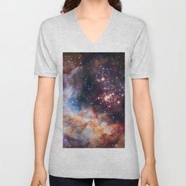 Star Cluster Westerlund 2 Unisex V-Neck