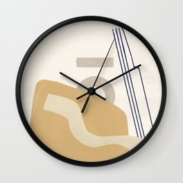 Branded Abstract 10 Wall Clock