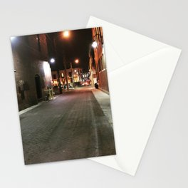 Downtown Alley Stationery Cards