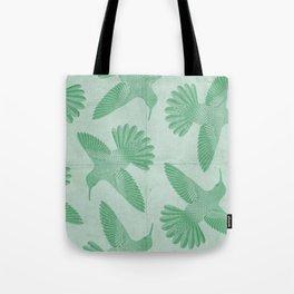 Hummingbird Pattern Tote Bag