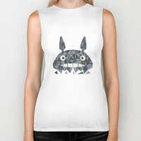 totes Biker Tanks featuring Totes by D. A. M. Good Prints