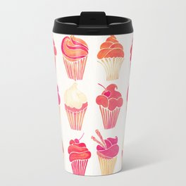 Cupcake Collection – Pink & Cream Palette Travel Mug