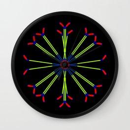 Ice Hockey Stick Design Wall Clock