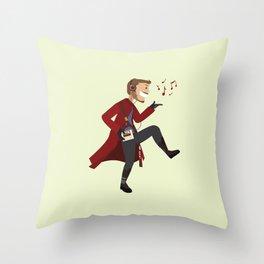 Dancing Quill Throw Pillow