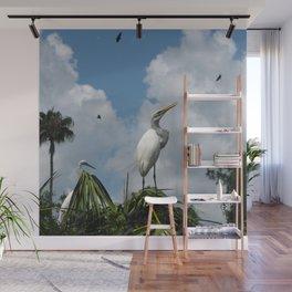 Dino Bird Wall Mural