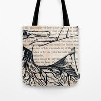 philosophy Tote Bags featuring Philosophy of Law by Nikki D. May