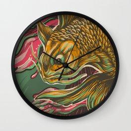 Japanese Fish Wall Clock