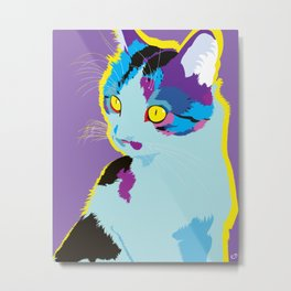 Saffy Metal Print
