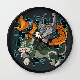 Invader Midna Wall Clock