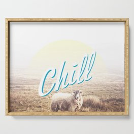 Sheep - chill Serving Tray