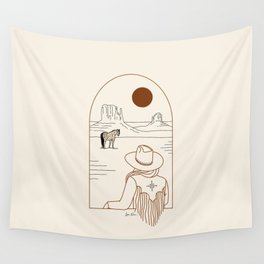 Lost Pony - Rustic Wall Tapestry