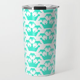 Crown background #society6 #decor #buyart #artprint Travel Mug